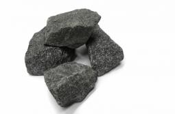 Камень для бани Огненный Камень Габбро-диабаз в мешке 20 кг