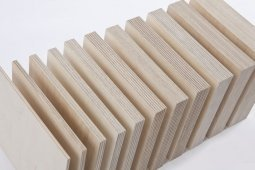 Фанера ФК шлифованная с 2 сторон 12x1525x1525 мм, сорт 2/2, береза