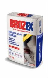 Ровнитель Brozex Нивелир Старт NF-410 цементно-полимерный высокопрочный 25 кг
