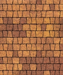 Тротуарная плитка Антик Гранит Листопад 73х53х91х60 Осень