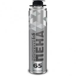 Монтажная пена TriS 65 Серебро профессиональная (820 мл)