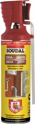 Монтажная пена Soudal Genius Gun 12х750 мл для окон, дверей