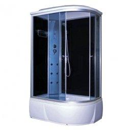 Кабина душевая Aquacubic 3106B L 1200х800х2200 мм Grey black