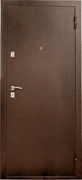 Металлическая дверь Старк, Йошкар-Ола, 860*2050, итальянский орех