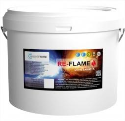 Огнезащитное сверхтонкое полимерное покрытие RE-FLAME, 20 кг