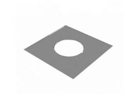 Разделка потолочная декоративная нержавеющая Craft 430 790х670 ф300, двухсоставная