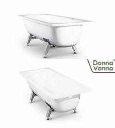 Ванна ВИЗ Donna Vanna стальная c опорной подставкой 160x70x40