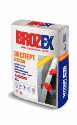 Штукатурка Brozex Эксперт CPM-31 цементная для наружных и внутренних работ 25 кг