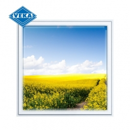 Окно ПВХ Veka 600х600 мм одностворчатое Г 1 стекло