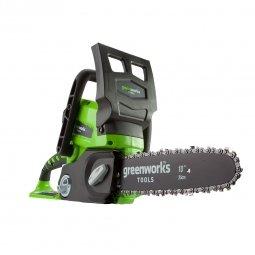 Пила аккумуляторная цепная GreenWorks G24CS25 24V без АКБ и ЗУ 25 см