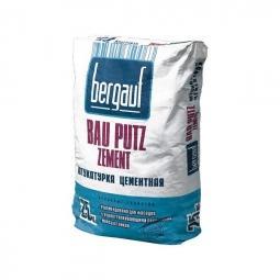 Штукатурка Bergauf Bau Putz Zement цементная 25 кг